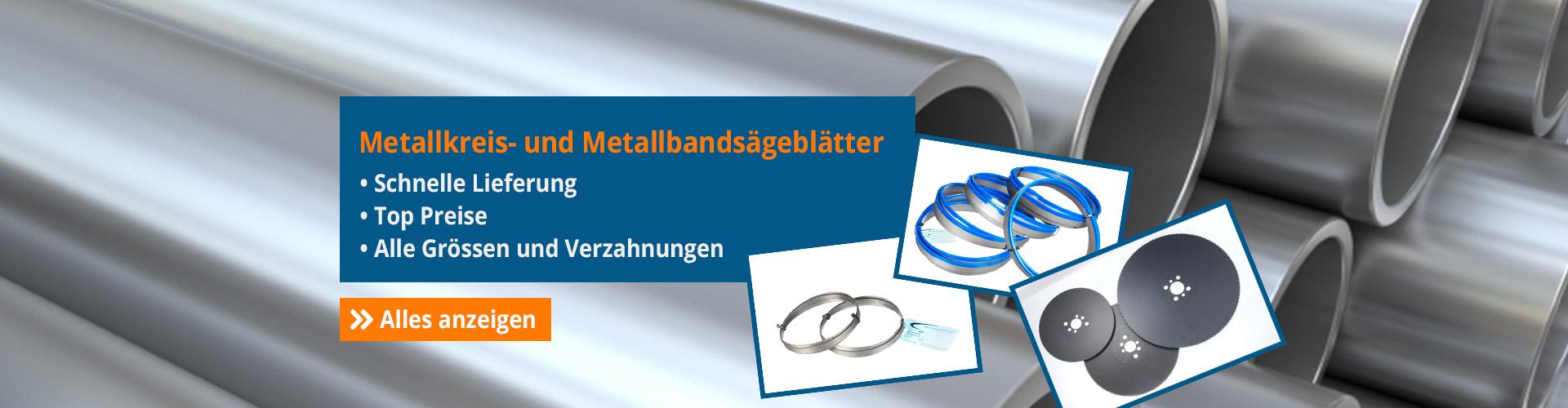 Metallkreis- und Metallbandsägeblätter