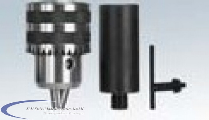 Bohrfutter mit Adapter Spannbereich 3 - 13 mm