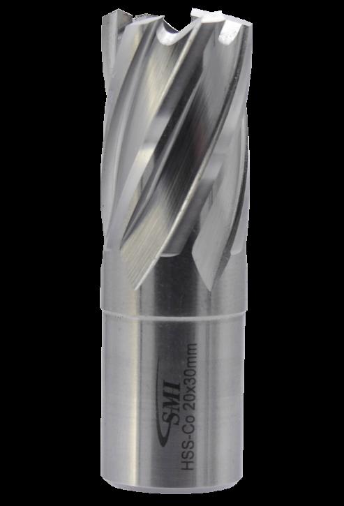 SMI HSS-E Cobalt Kernbohrer 20 mm Drm. 19 mm Weldon Aufnahme