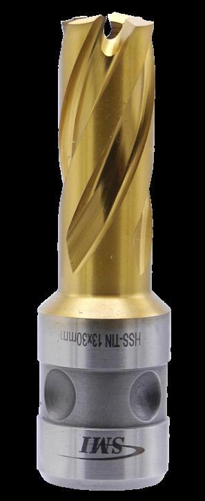 SMI HSS TIN Kernbohrer 13 mm Drm. Fein Quick-In Schaft