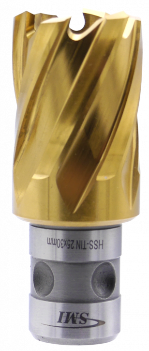 SMI HSS TIN Kernbohrer 25 mm Drm. Fein Quick-In Schaft