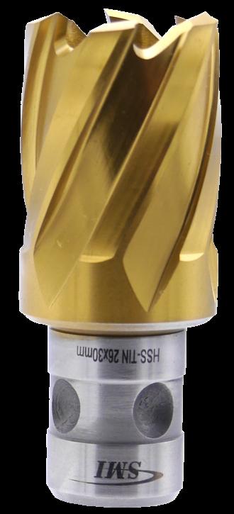 SMI HSS TIN Kernbohrer 26 mm Drm. Fein Quick-In Schaft