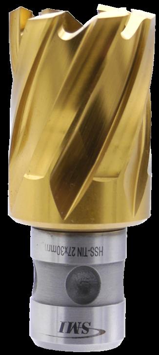 SMI HSS TIN Kernbohrer 27 mm Drm. Fein Quick-In Schaft