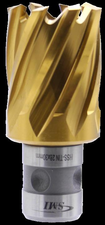 SMI HSS TIN Kernbohrer 28 mm Drm. Fein Quick-In Schaft