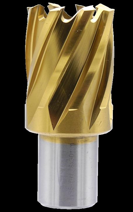 SMI HSS TIN Kernbohrer 28 mm Drm. 19 mm Weldon Aufnahme