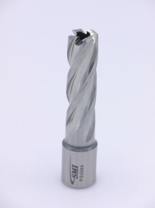 Kernbohrer für Metall Drm. 16 mm Aufnahme Weldon 19 mm