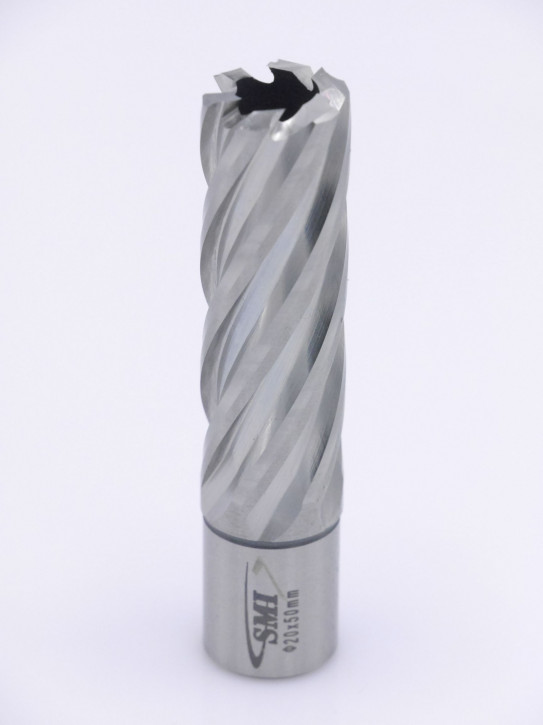 Kernbohrer für Metall Drm. 20 mm Aufnahme Weldon 19 mm