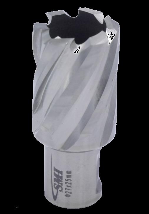 Kernbohrer für Metall Drm. 27 mm Aufnahme Weldon 19 mm