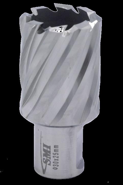 Kernbohrer für Metall Drm. 30 mm Aufnahme Weldon 19 mm