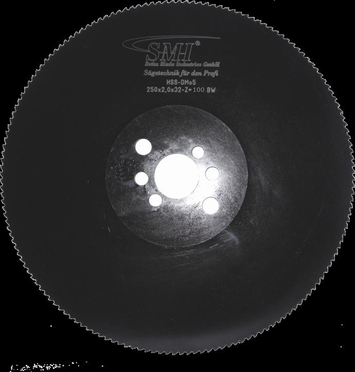 Metallkreissägeblatt HSS Dmo5 250x2,0x32 100 Z