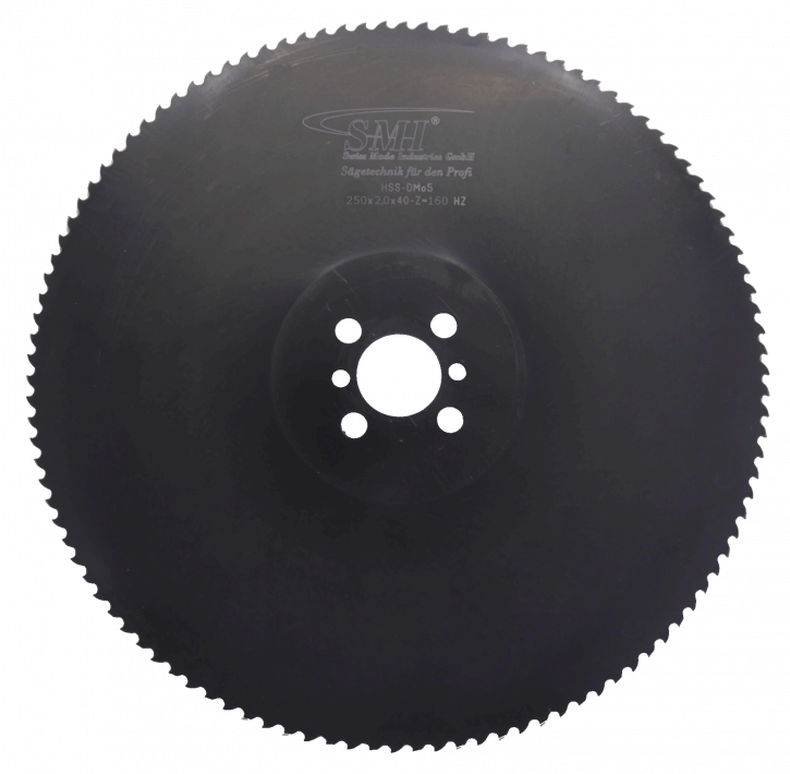 Metallkreissägeblatt HSS Dmo5 250x2,0x40 160 Z