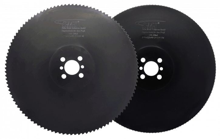 Metallkreissägeblatt HSS Dmo5 275x2,5x40 140 Z + 220 Z MIX-Set