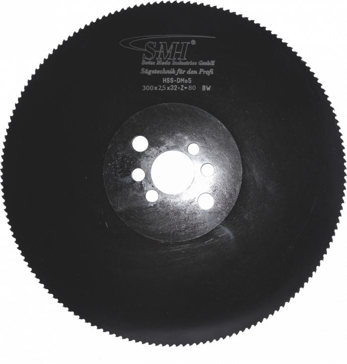 Metallkreissägeblatt HSS Dmo5 300x2,5x32 80 Z