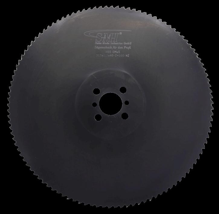 Metallkreissägeblatt HSS Dmo5 315x2,5x40 160 Z
