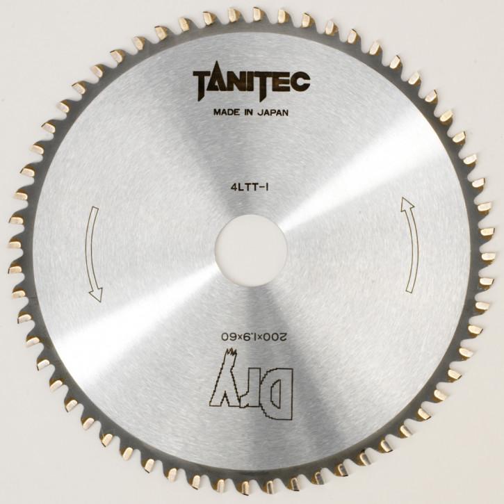TANITEC HM-Kreissägeblatt 200x30x1,9 mm 60 Z