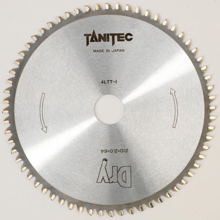 TANITEC HM-Kreissägeblatt 210x30x2,0 mm 64 Z