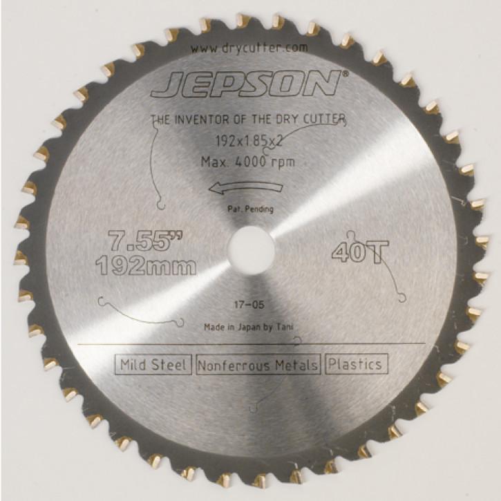 JEPSON Kreissägeblatt 192x1,85x20 mm 40 Z