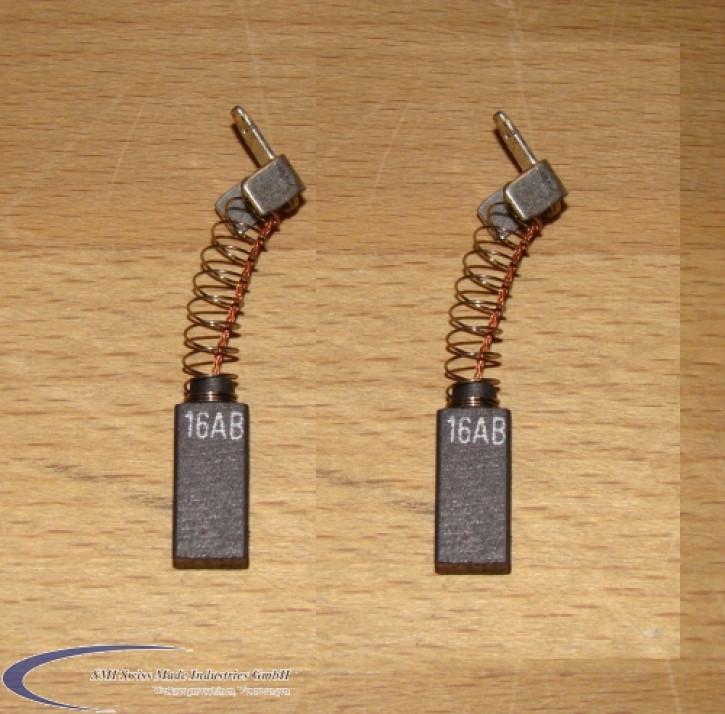 Kohlebürsten für P 16, P 16 S, B 13 und SB 13