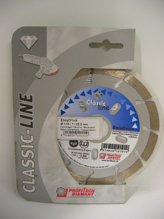 ProfiTech Classic Line EasyDrive 115x22,2 mm Diamanttrennscheibe