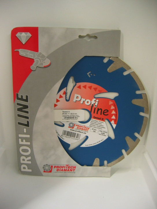 ProfiTech Profi Line Speed K 230x22,2 mm Diamanttrennscheibe