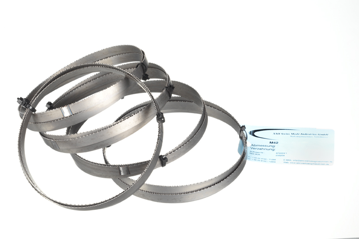 Bi-Metall Bandsägeblatt M42 1638x13x0,65 10/14 ZpZ